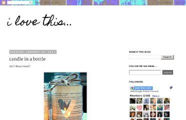 http://ilovethisandthat.blogspot.com/2012/01/candle-in-bottle.html