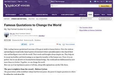 http://voices.yahoo.com/famous-quotations-change-world-1394267.html