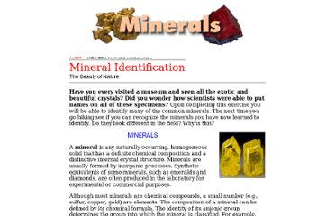 http://faculty.chemeketa.edu/afrank1/rocks/minerals/minerals.htm