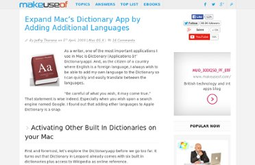 http://www.makeuseof.com/tag/easily-expanding-apple-dictionary-%e2%80%93-mac-only/