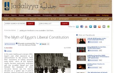 http://www.jadaliyya.com/pages/index/5059/the-myth-of-egypts-liberal-constitution