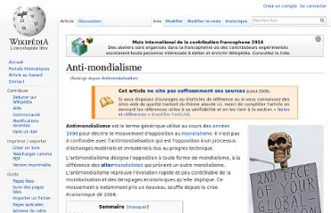 http://fr.wikipedia.org/wiki/Antimondialisation
