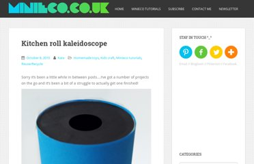 http://www.minieco.co.uk/kitchen-roll-kaleidoscope/