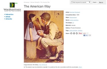 http://www.wikipaintings.org/en/norman-rockwell/the-american-way-1944