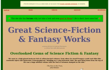 http://greatsfandf.com/overlooked-books.php