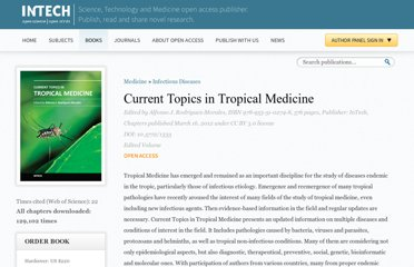 http://www.intechopen.com/books/current-topics-in-tropical-medicine