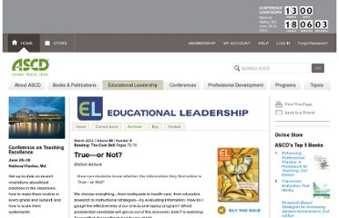 http://www.ascd.org/publications/educational-leadership/mar12/vol69/num06/True%E2%80%94or-Not%C2%A2.aspx