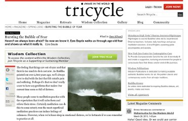http://www.tricycle.com/practice/bursting-bubble-fear