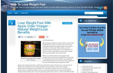 http://www.loseweightfastblog.net/2011/lose-weight-fast-with-apple-cider-vinegar-natural-weight-loss-benefits/