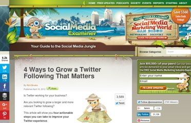 http://www.socialmediaexaminer.com/how-to-grow-a-twitter-following/