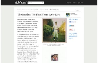 http://billybuc.hubpages.com/hub/The-Beatles-The-Final-Years-1967-1970
