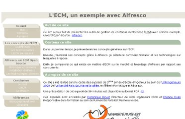 http://igm.univ-mlv.fr/~dr/XPOSE2010/alfresco/index.html#introduction