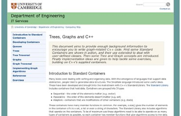 http://www-h.eng.cam.ac.uk/help/tpl/talks/C++graphs.html#ImplementingGraphAlgorithms