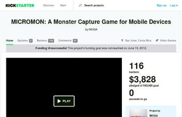 http://www.kickstarter.com/projects/395241201/micromon-a-monster-capture-game-for-mobile-devices