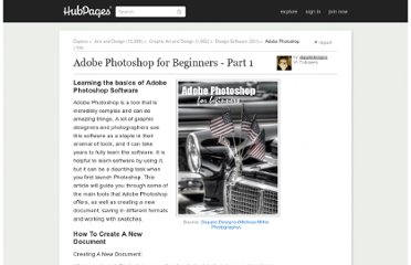 http://dappledesigns.hubpages.com/hub/Adobe-Photoshop-for-Beginners-Part-1
