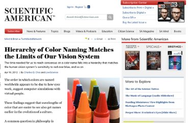 http://www.scientificamerican.com/article.cfm?id=how-colors-get-their-name