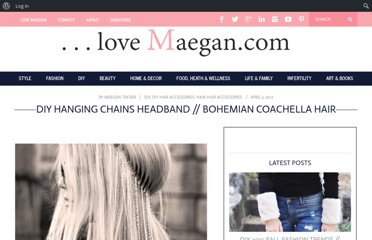 http://www.lovemaegan.com/2012/04/hanging-chains-headband-diy.html