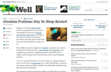 http://well.blogs.nytimes.com/2012/04/16/attention-problems-may-be-sleep-related/