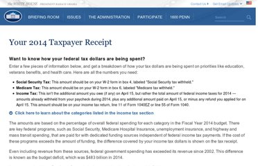 http://www.whitehouse.gov/2011-taxreceipt