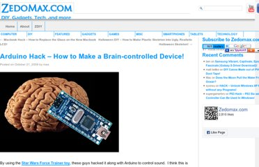 http://zedomax.com/blog/2009/10/21/arduino-hack-how-to-make-a-brain-controlled-device/