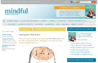 http://www.mindful.org/in-body-and-mind/coping-with-difficulty/healing-the-child-within