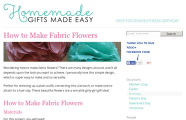 http://www.homemade-gifts-made-easy.com/how-to-make-fabric-flowers.html