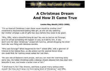 http://www.hymnsandcarolsofchristmas.com/Text/a_christmas_dream_and_how_it_cam.htm