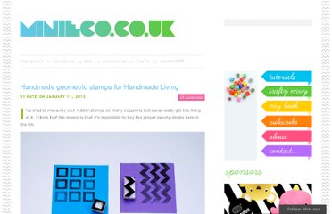 http://www.minieco.co.uk/handmade-geometric-stamps-for-handmade-living/