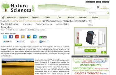 http://www.natura-sciences.com/agriculture/artificialisation-sols/menace-independance-alimentaire205.html