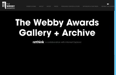 http://www.webbyawards.com/webbys/current_honorees.php?season=16