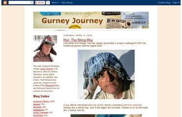 http://gurneyjourney.blogspot.com/2008/04/hair-string-mop.html