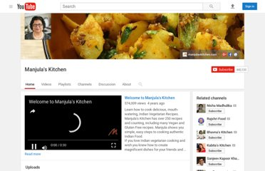 http://www.youtube.com/user/Manjulaskitchen