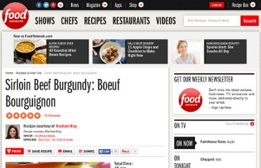 http://www.foodnetwork.com/recipes/rachael-ray/sirloin-beef-burgundy-boeuf-bourguignon-recipe2/index.html