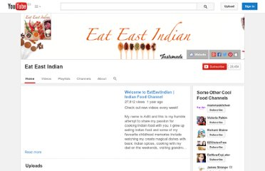http://www.youtube.com/user/eateastIndian