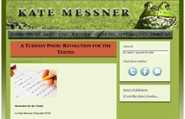 http://www.katemessner.com/a-tuesday-poem-revolution-for-the-tested/