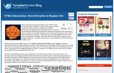 http://blog.templatemonster.com/2012/04/17/html5-semantics-elements-replace-div-tag/