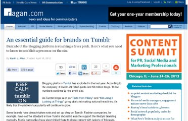 http://www.ragan.com/Main/Articles/An_essential_guide_for_brands_on_Tumblr_44731.aspx