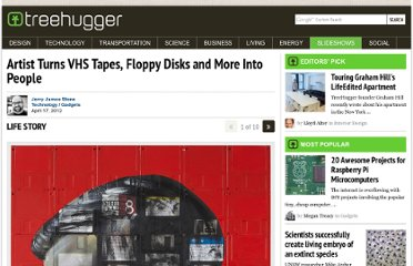 http://www.treehugger.com/slideshows/gadgets/artist-turns-vhs-tapes-floppy-disks-and-more-art/