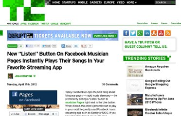 http://techcrunch.com/2012/04/17/facebook-listen-button/