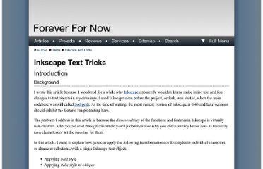 http://www.ffnn.nl/pages/articles/media/inkscape-text-tricks.php