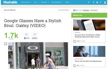 http://mashable.com/2012/04/17/google-glasses-have-a-stylish-rival-oakley-video/
