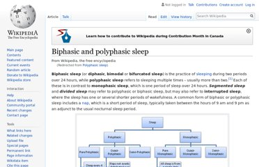 http://en.wikipedia.org/wiki/Polyphasic_sleep