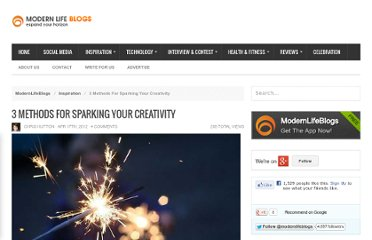 http://www.modernlifeblogs.com/2012/04/3-methods-for-sparking-your-creativity/