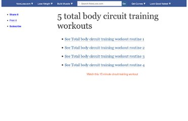 http://www.nowloss.com/total-body-circuit-training-workout-routines-for-women-men.htm