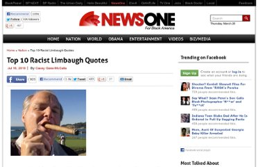 http://newsone.com/16051/top-10-racist-limbaugh-quotes/