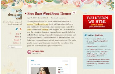 http://webdesignerwall.com/general/free-base-wordpress-theme