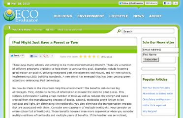 http://www.ecoevaluator.com/blog/ipad-saves-a-forest.html