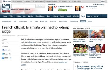 http://www.foxnews.com/world/2012/04/03/french-official-islamists-planned-to-kidnap-judge/