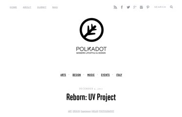 http://www.polkadot.it/2011/12/04/reborn-uv-project