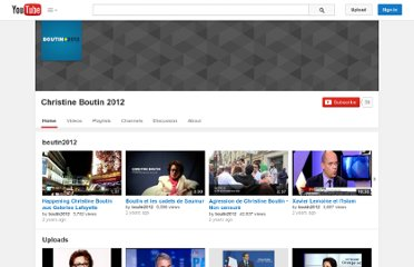 http://www.youtube.com/user/boutin2012